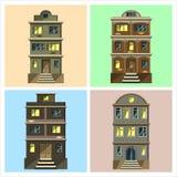 城市房子 库存例证