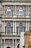 城市房间在乔治广场,格拉斯哥,苏格兰 免版税库存照片