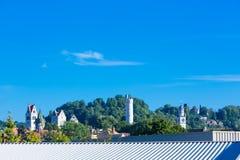城市拉芬斯堡 库存照片