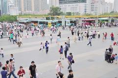 城市拥挤了 免版税库存图片