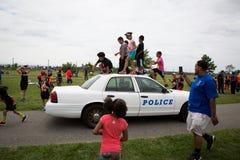 城市挑战种族 免版税图库摄影