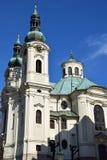 城市捷克karlovy共和国塔变化视图 图库摄影