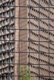 城市摩天大楼的艺术反映 免版税库存图片