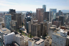 城市摩天大楼 免版税图库摄影