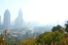 城市摩天大楼 图库摄影
