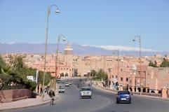城市摩洛哥ouarzazate 免版税库存照片