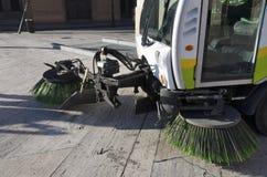 城市擦净剂 库存图片