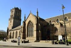 城市教会,邓迪,苏格兰 免版税图库摄影