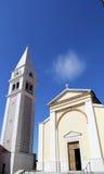 城市教会 库存图片