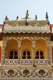 城市斋浦尔宫殿 图库摄影