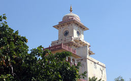 城市斋浦尔宫殿 库存图片