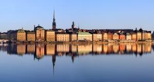 城市斯德哥尔摩 免版税库存图片