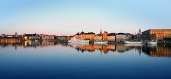 城市斯德哥尔摩 库存照片