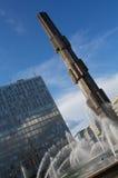 城市斯德哥尔摩 免版税库存照片