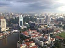 城市新加坡 图库摄影