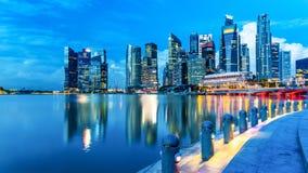 城市新加坡 免版税库存照片