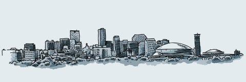 城市新奥尔良 免版税库存照片