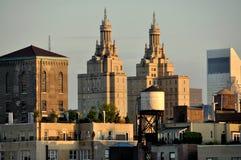 城市新的侧视图西方约克 免版税图库摄影