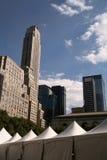 城市新的地平线帐篷约克 免版税库存照片