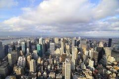城市新的地平线约克 图库摄影