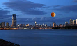 城市新的地平线Th约克 库存照片