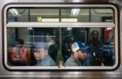 城市新的地铁约克 图库摄影