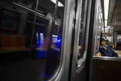 城市新的地铁约克 库存照片