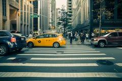 城市新的场面街道约克 免版税库存照片