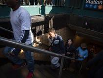 城市新的岗位地铁约克 免版税库存图片