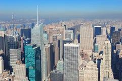 城市新的摩天大楼约克 图库摄影