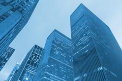 城市新的摩天大楼约克 免版税库存照片