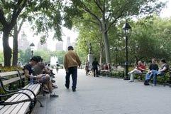 城市新的方形华盛顿约克 免版税库存图片
