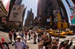城市新的方形时间约克 免版税库存照片