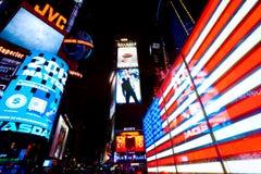 城市新的方形时间美国约克 免版税库存照片