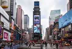 城市新的方形时间约克 免版税库存图片