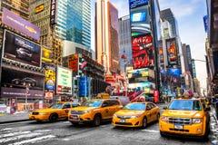 城市新的方形时间美国约克 库存图片