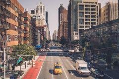 城市新的街道约克 库存图片