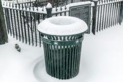 城市新的雪约克 图库摄影
