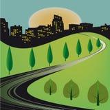 城市旅途 免版税库存图片