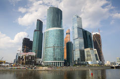 城市日克里姆林宫室外的莫斯科 图库摄影