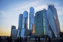 城市日克里姆林宫室外的莫斯科 免版税库存照片