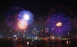 城市日独立纽约 库存照片