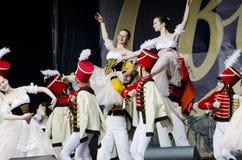 城市日lviv 免版税图库摄影