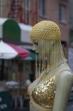 城市时装模特纽约 免版税库存照片