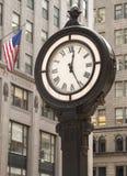 城市时钟 免版税库存图片
