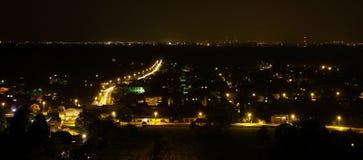 城市晚上 图库摄影