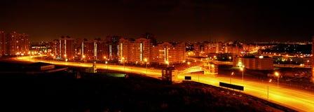 城市晚上 免版税图库摄影
