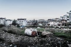城市更新在土耳其的马尔马拉地区 库存照片