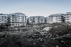 城市更新在土耳其的马尔马拉地区 库存图片