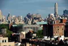 城市曼哈顿新的上面的视图约克 免版税库存照片